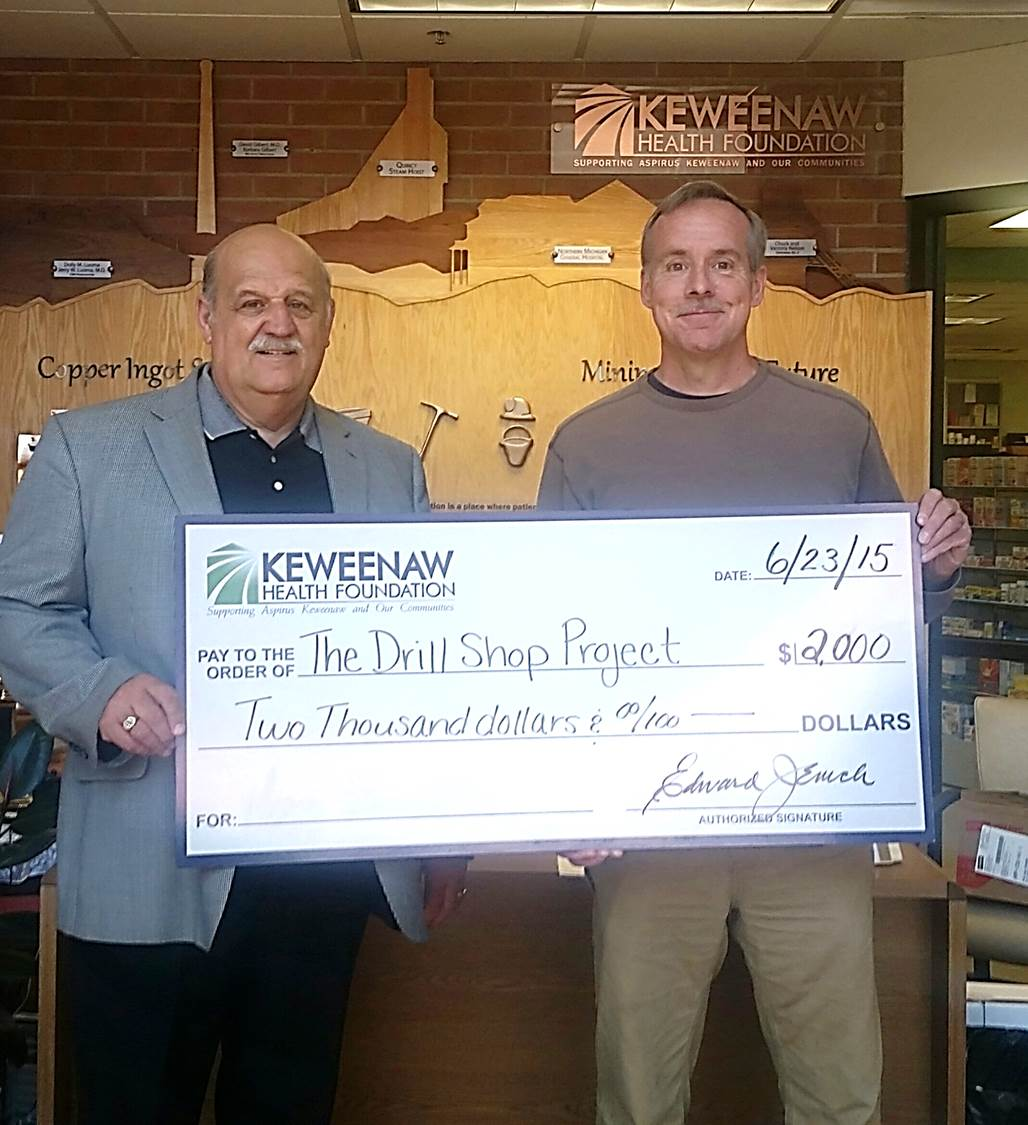 Donation to The Drill Shop